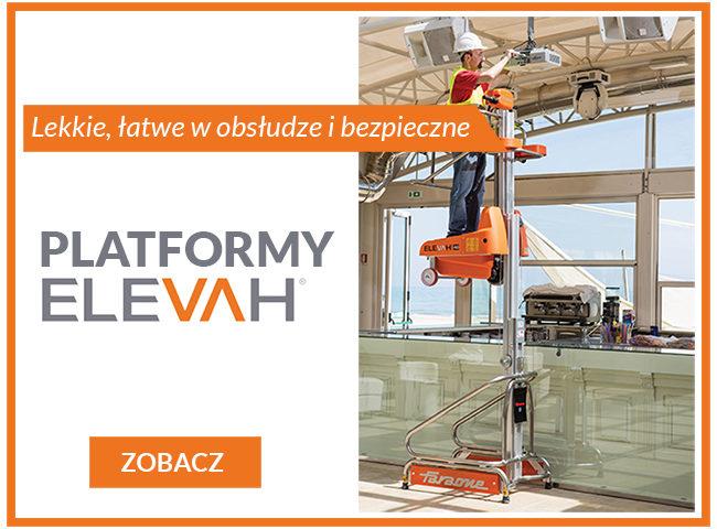 Platformy Elevah lekkie i bezpieczne
