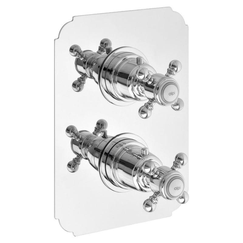 Bateria termostatyczna retro