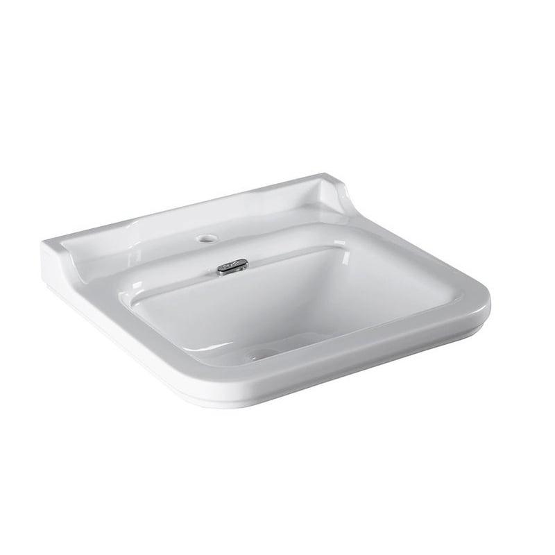Biała umywalka WALDORF 60x55 cm
