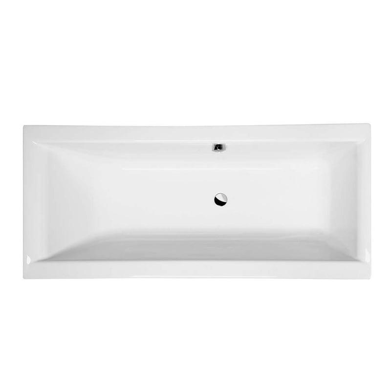 Biała wanna prostokątna z nogami CLEO 180x80x48cm