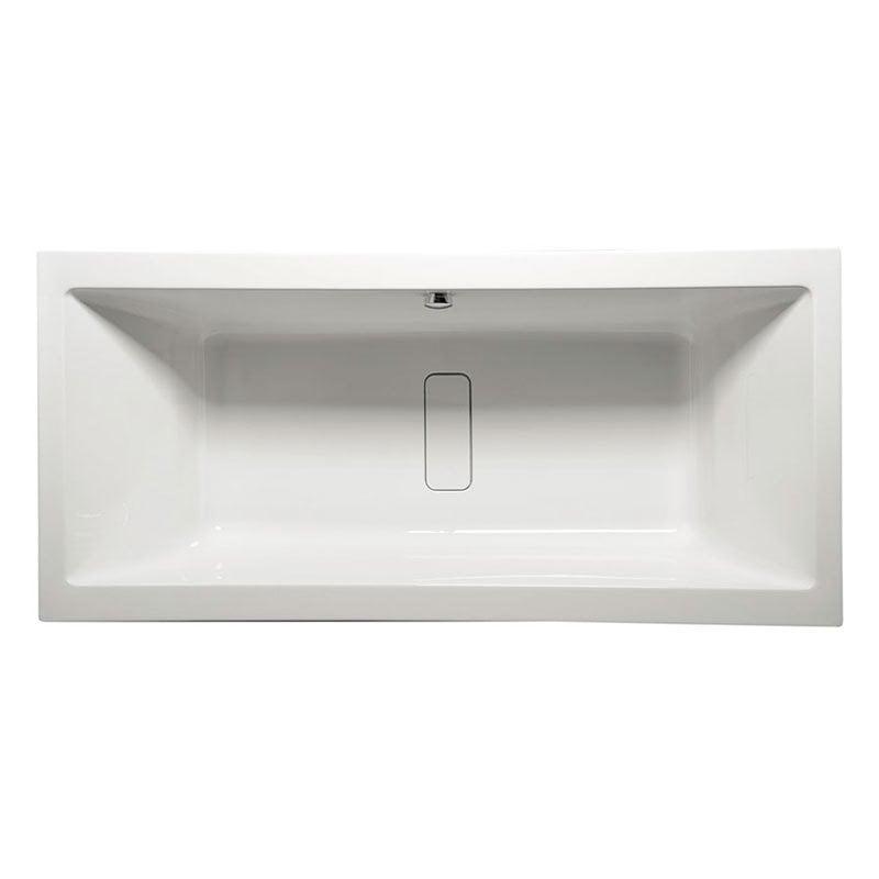 Biała wanna MARLENE 180 prostokątna z nogami 180x80x48cm