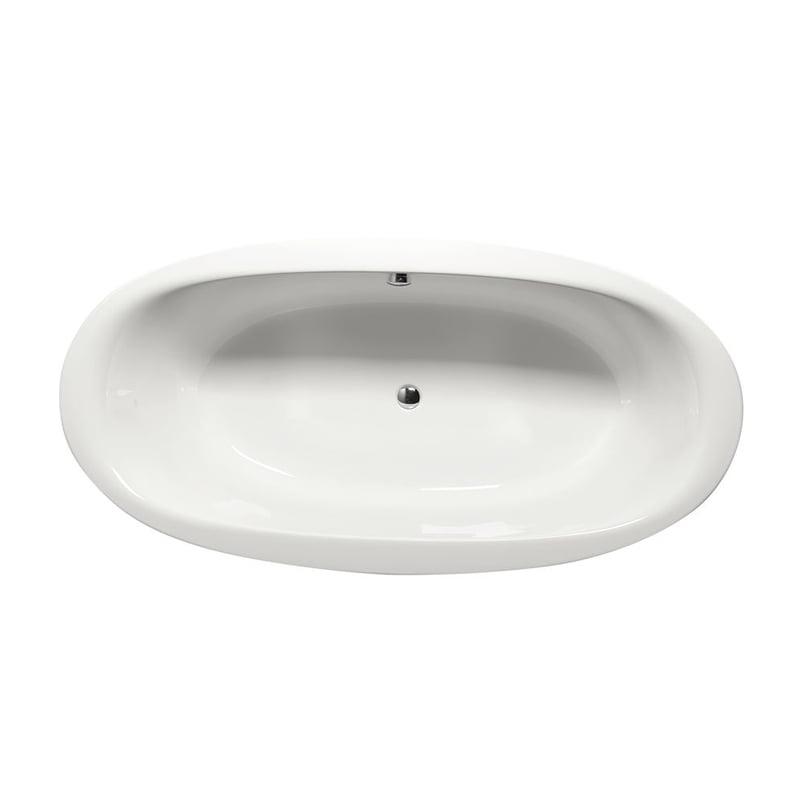 Biała wanna owalna STADIUM 190x95x46cm