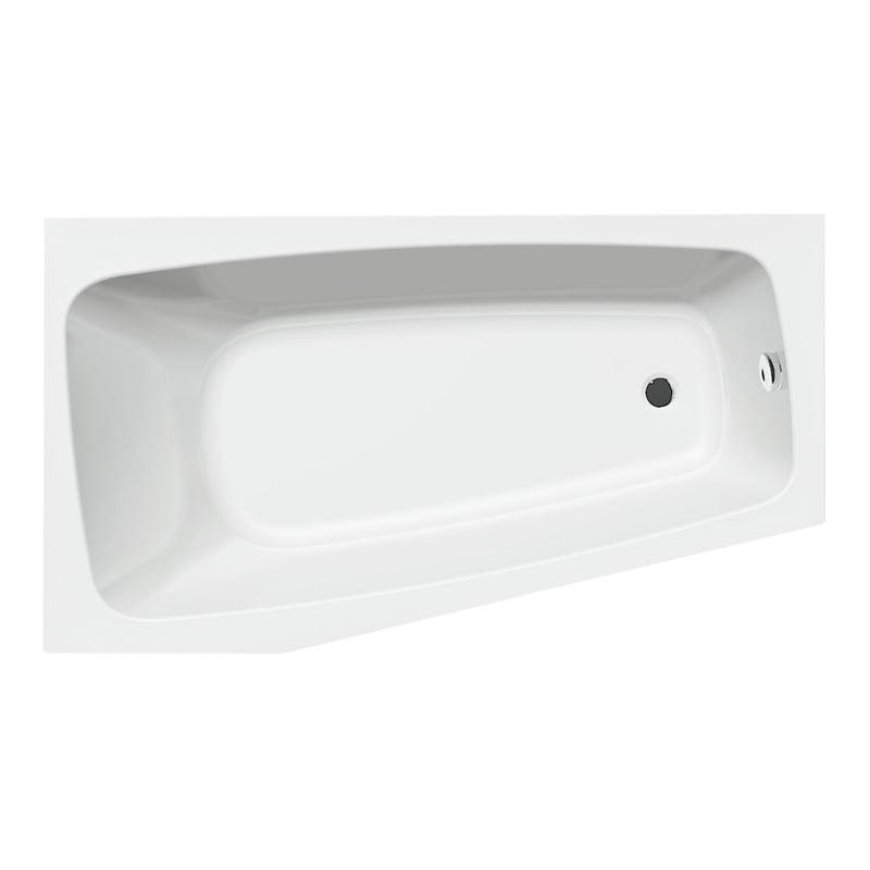 Biała wanna specjalna BEROUNKA 160x90x42cm, lewa lub prawa