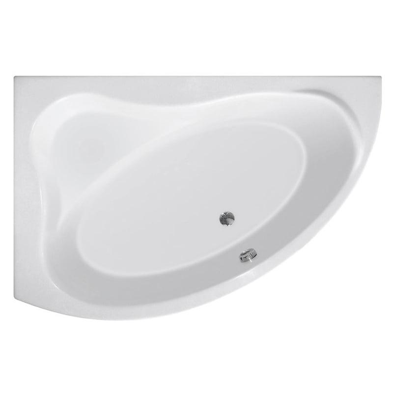 Biała wanna ORAVA 150x9038cm, lewa lub prawa