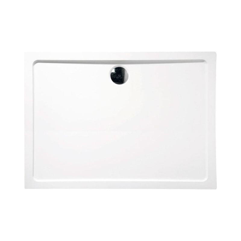 Biały brodzik prysznicowy SLIM 140x90x4 starylowy
