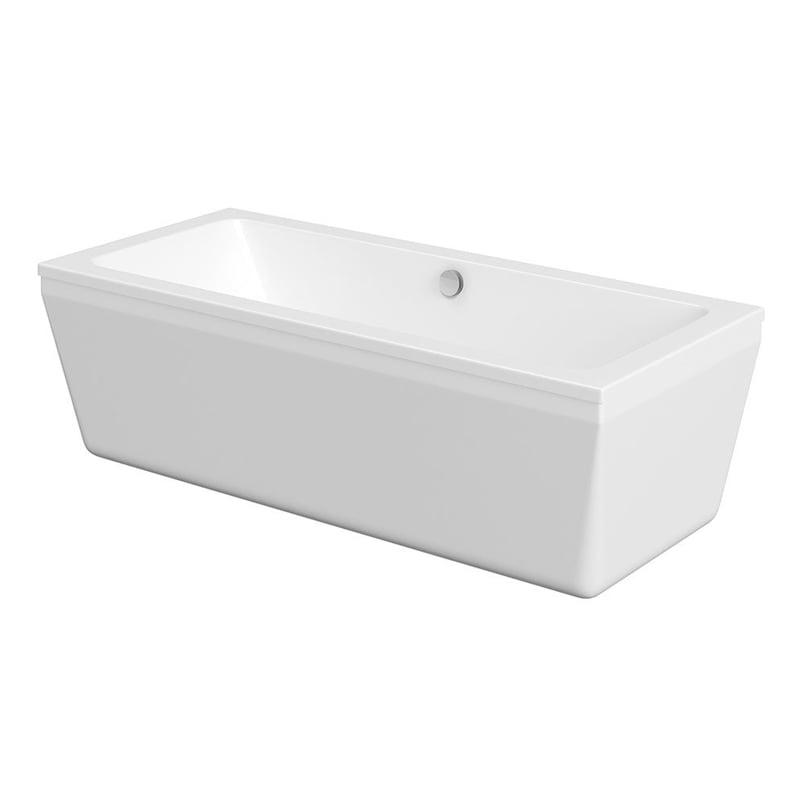 ODRA biała wanna wolnostojąca akrylowa 180x80x55cm